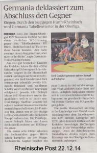 RP 22.12.14 Letzter Oberligakampftag