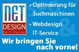 netDESIGN.de - Optimierung für Suchmaschinen - Webdesign - IT-Service
